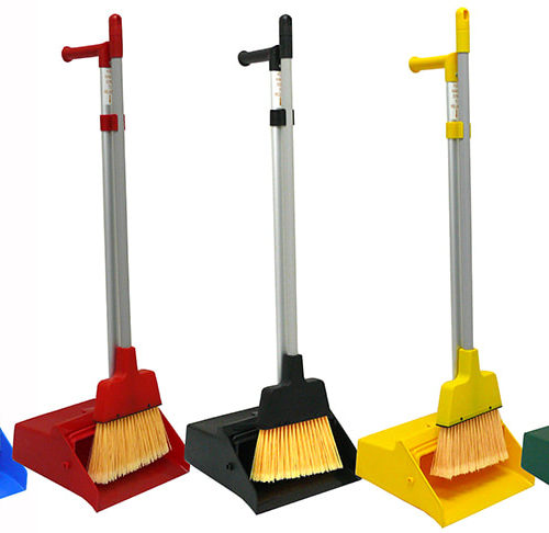 Upright Lobby Dustpan Set