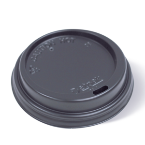 12.16.20oz SMOOTH HOT CUP LID BLACK