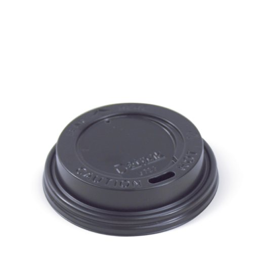 6oz HOT CUP LID BLACK
