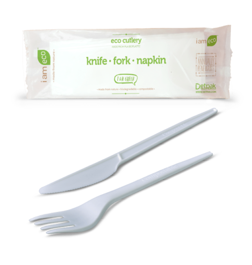 KNIFE, FORK & NAPKIN CUTLERY PACK