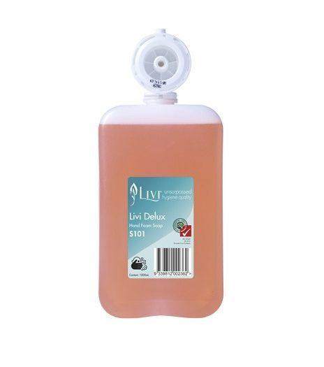 Livi Delux Hand Foam Soap – S101