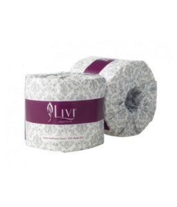 Livi Impressa bathroom embossed Toilet Paper 3ply