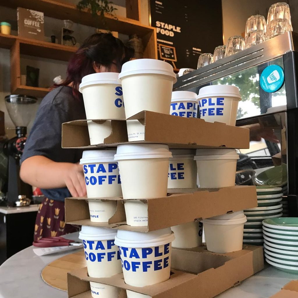 Take away coffee cups - Staples Takeaway Supplies